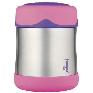 Thermos Foogo Leak Proof Stainless Steel Food Jar, 10 Ounce (Pink