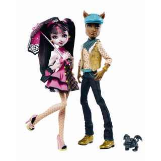 Monster High Draculaura Clawdeen Giftpack   Dolls & Playsets Toys at