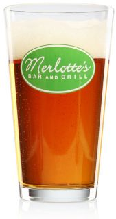 Merlottes Bar & Grill Pint Glass