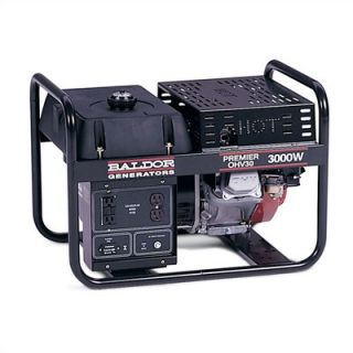 Baldor 3,000 Watt Premier Industrial Portable Generator With Honda