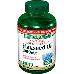 Buy Natures Bounty Organic Flaxseed Oil, 1000 mg & More  drugstore