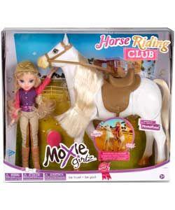 Buy Moxie Girlz Horse Riding Club Avery Doll and Horse at Argos.co.uk