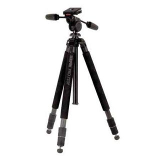 Sunpak Pro 723P Carbon Fiber Tripod with 3 Way Photo/Video Panhead