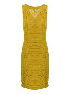 Buy Kaliko Pleat Shift Dress, Light Green online at JohnLewis