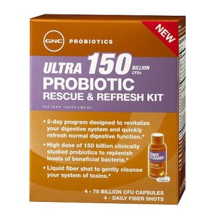 Buy the GNC Ultra 150 Probiotic Rescue & Refresh Kit on http//www.gnc