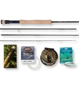 Double L Four Piece Fly Rod Outfits, 7 8 Wt. Double L Outfits  Free