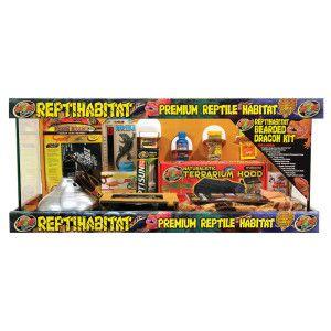 ZOO MED™ REPTIHABITAT™ Bearded Dragon Housing Kit   Reptile   Sale
