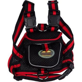 Home Dog Collars, Harnesses & Leashes Pet Life Black Backpack Dog