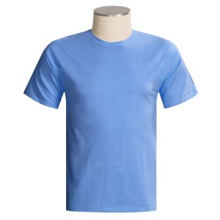 Hanes Tagless Cotton T Shirt   Short Sleeve (For Men and Women)   Save