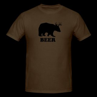 Brown Deer or Bear T Shirts