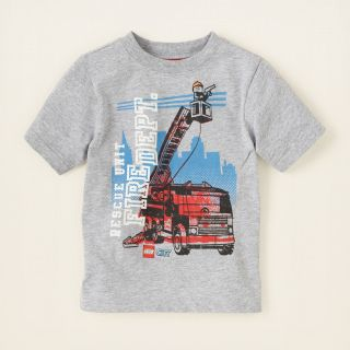 baby boy   graphic tees   Lego fire truck graphic tee  Childrens