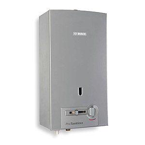 BOSCH Tankless Water Heater,Liquid Propane Gas   2KJH4