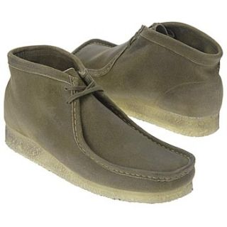 Mens Clarks Wallabee Boot Taupe Distressed Shoes