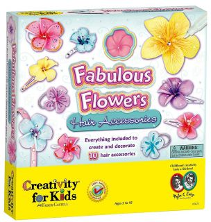 Creativity for Kids Faboulous Flowers Hair Accessories