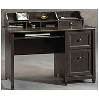 Sauder Edge Water Computer Desk with Hutch