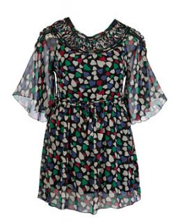 Black Pattern (Black) Koko Black Heart Print Dress  251045209  New