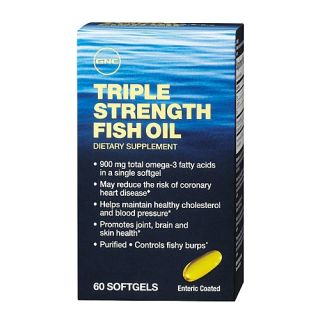 GNC      GNC Triple Strength Fish Oil from