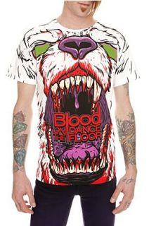 Blood On The Dance Floor Allover Bear T Shirt 2XL   191736
