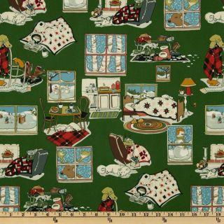Snow Day   Discount Designer Fabric   Fabric