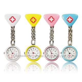 4PCS Hospital Mark Clip Chain Doctor Nurse Pocket Watch (1*377 include