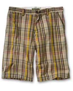 Classic Fit Legend Wash 10 Plaid Chino Shorts  Eddie Bauer