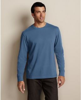 Long Sleeve Classic Fit Legend Wash T Shirt  Eddie Bauer