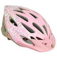 Bell Alibi Bike Helmet   Pink Flowers (50 57cm) Cat code 193584 0
