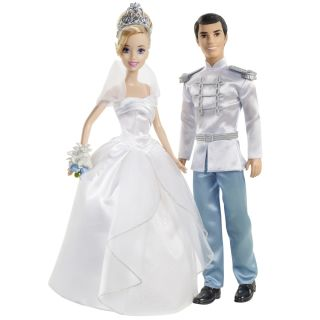 Disney Princess Cinderella FAIRYTALE WEDDING® Dolls   Shop.Mattel