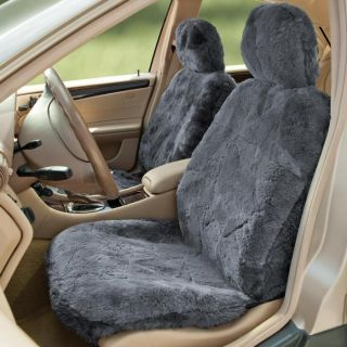 Sheepskin Seat Cover at Brookstone—Buy Now