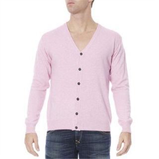 Quattro Pink Cashmere Blend Cardigan