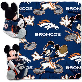 Denver Broncos Bedding Disney® Denver Broncos Pillow and Throw Set
