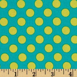 Michael Miller Ta Dot Lagoon   Discount Designer Fabric   Fabric