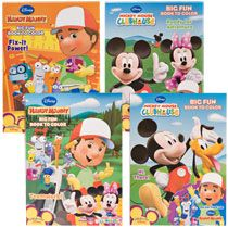 Bulk Disney Handy Mandy & Mickey Mouse Clubhouse Coloring and Activity