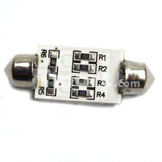 Interior 39mm 16 SMD LED Car Dome Light Bulbs White 12V   Tmart
