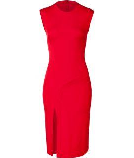 Hakaan Scarlet Red Sleeveless Sheath Dress  Damen  Kleider