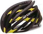 Giro Cycling Helmet Aeon Matte Black/Yellow Livestrong Road Race
