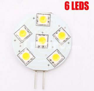 G4 6 LED Warm White Spotlight Spot Light Bulbs Lamp (12V)   Tmart
