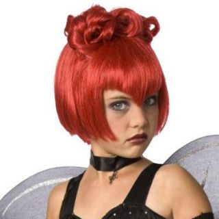 Halloween Costumes Red Wig Child