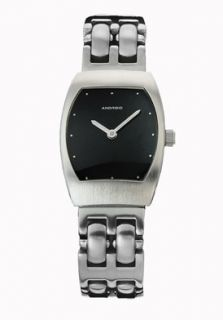 Android AD64BK Watches,Womens Lady Voyage Black Dial Slim Stainless