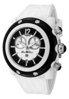 Glam Rock GRD25106 Watches,Womens Miami Beach Chronograph White