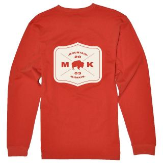 Mountain Khakis Bison Patch Organic Long Sleeve Shirt   Mens   FREE