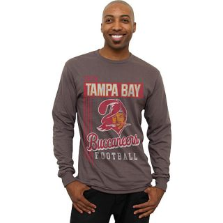 Mens Tampa Bay Buccaneers Vintage Vertical Lines Long Sleeve T Shirt