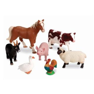Jumbo Realistic Farm Animal Toys at Brookstone—Buy Now