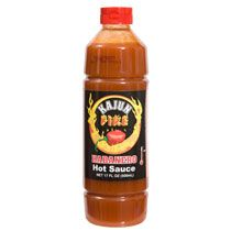 Home Kitchen & Tableware Condiments Kajun Fire Habanero Hot Sauce, 17