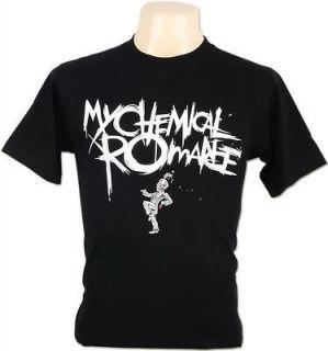 My Chemical Romance Gerard Way The Black Parade Punk Rock Tee Men