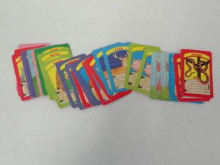VINTAGE CHILDRENS CHILD GAMES NOAHS ARK ANIMALS CARDS