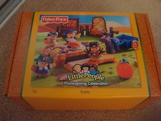 Fisher Price Little People Thanksgiving Celebration Set   NEW IN BOX