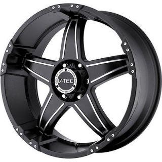 Tec Wizard Wheels Rims 8x165.1 8 Lug Chevy GMC Dodge 2500 2500HD