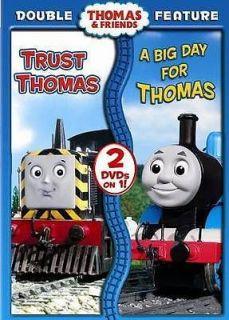 THOMAS & FRIENDS TRUST THOMAS/A BIG DAY FOR THOMAS   NEW DVD
