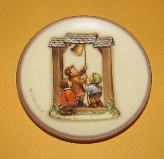Goebel Hummel Century Collection Mini Plate Lets Tell the World